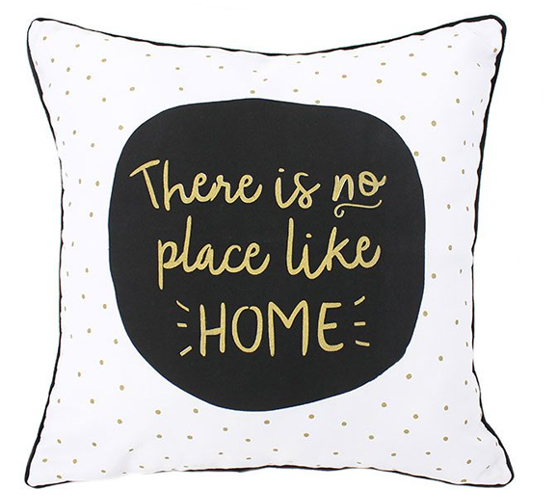 Kussen Theres No Place Like Home Multi Lifestyle