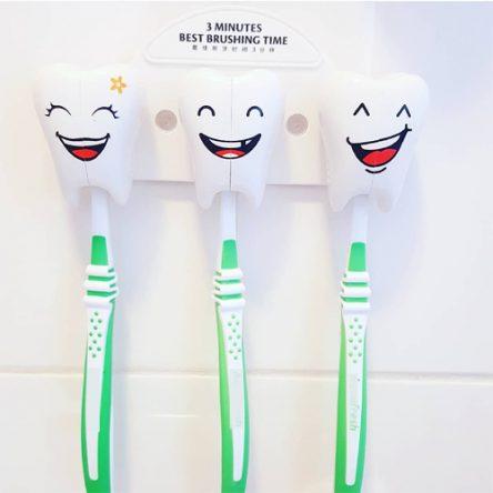 Tandenborstelhouder Tanden